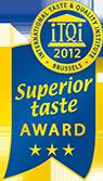 2012 ITQI Superior Taste Award