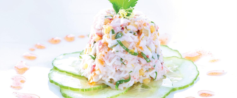 Caribbean Crab Salad
