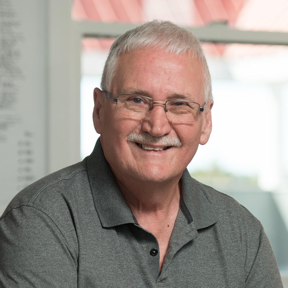 Staff photo of John Percy